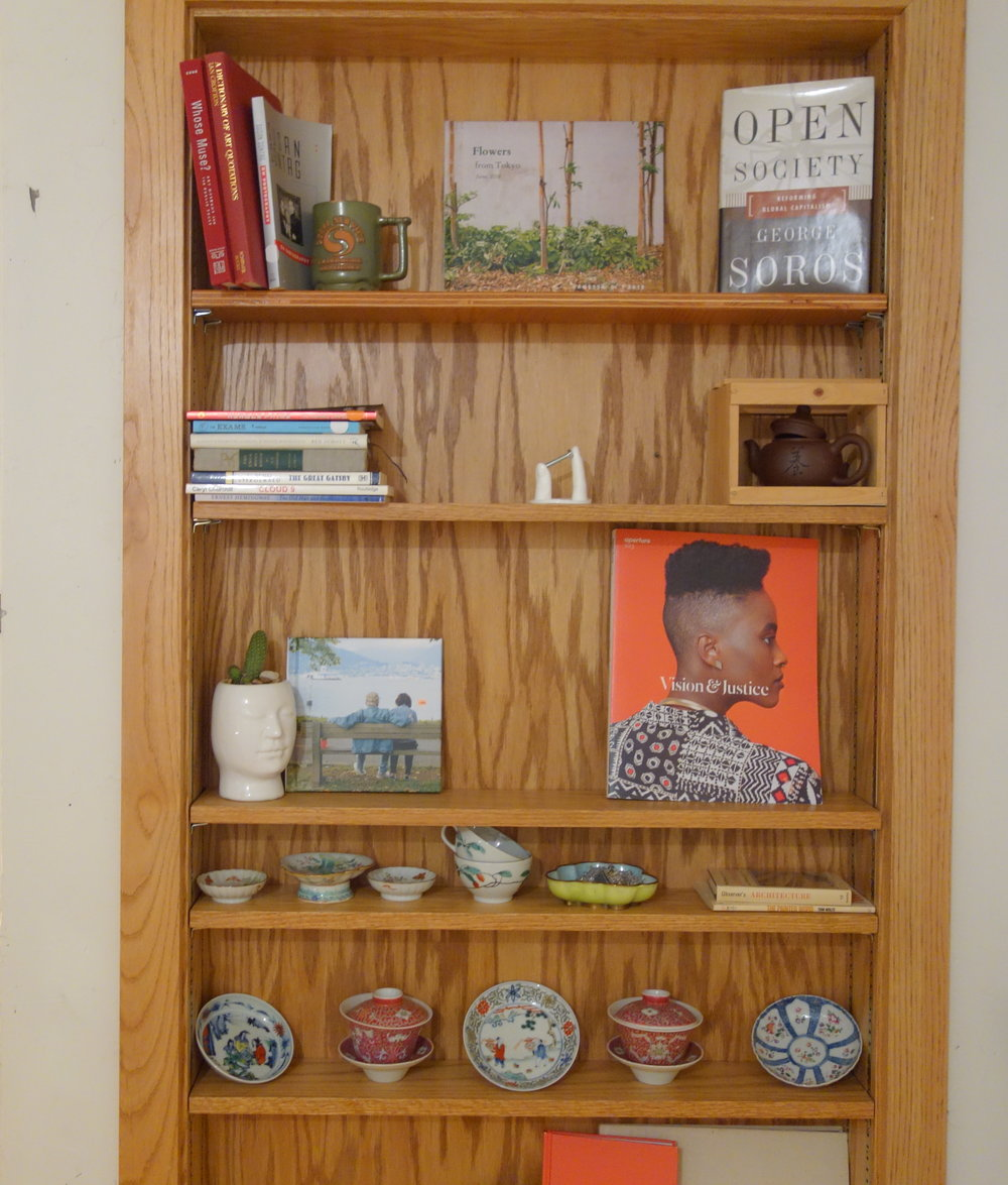 open library - this shelf takes inspiration from Project Gutenberg on a microscale ~october menu~