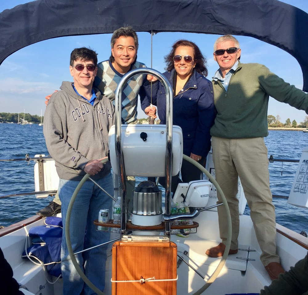 Sailing the Long Island Sound with Dr. Mathias Bostrom