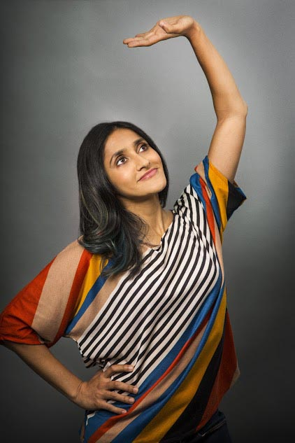 """Aparna Nancherla - Aparna Nancherla is a comedian of the stand-up variety, but can often be seen sitting. Last year, she released her debut album, Just Putting It Out There, on Tig Notaro's new label, Bentzen Ball Records and recorded a Comedy Central half hour special. This year, she was named one of """"The 50 Funniest People Right Now"""" by Rolling Stone. Currently, you can catch her on the latest seasons of Bojack Horseman, Master of None and Love, all on Netflix, as well as on HBO's Crashing. She's also written for Late Night with Seth Meyers (NBC) and Totally Biased (FX). Aparna will next appear on the upcoming Comedy Central show, Corporate. Photo: Robyn Von Swank"""