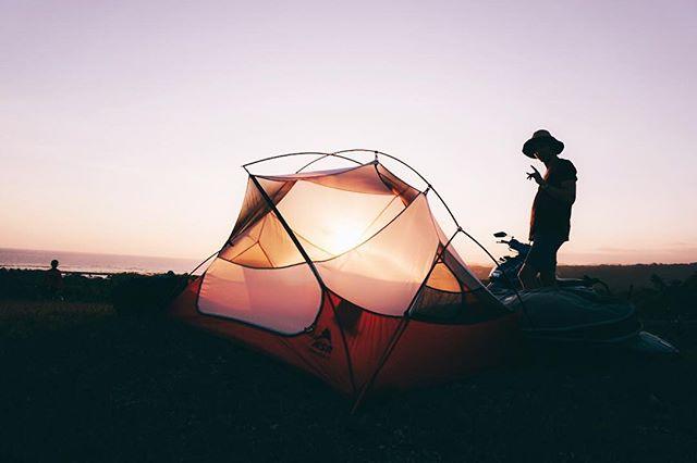 Living wherever we are!  @lorenzschobinger . . .  #sumba #photography #surfphotography #indonesia #travel #camping #tent #camperlife #sunset #sunrise #travelphotography #travelgram #instatravel #aroundtheworld