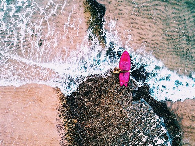It's coming! #ocean #power #beauty . . . #surfergirl #surfphotography #photography #artphotography #drone #arialphotography #mavic #mavicpro #surf #surfing #waterphotography #fromabove