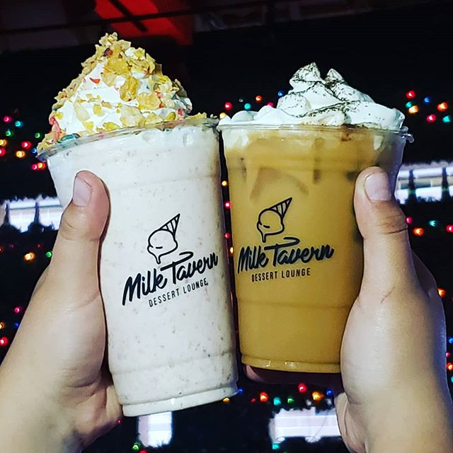 What is a better way to show off our new cups then showing off two new drinks? Come try our Irish Cream Latte and Cornflakes, strawberries, bananas, and cheesecake bites Milkshake. 🥰🥰 . . . . #cafe #foodie #coffeevibes #nom #eatingfortheinsta