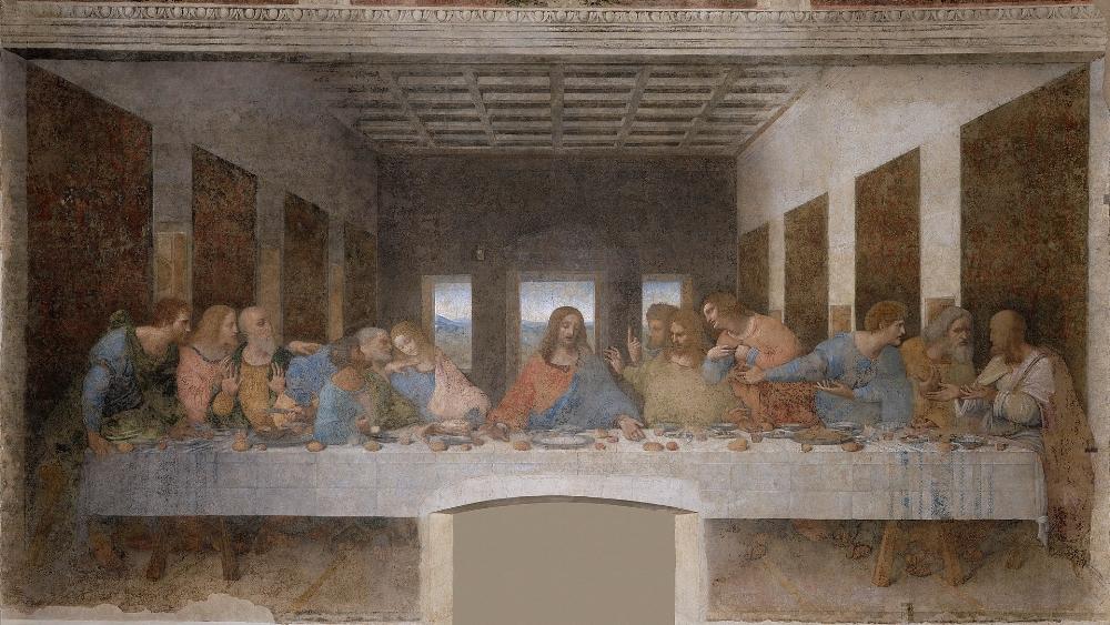 The Last Supper  ( Wikipedia )