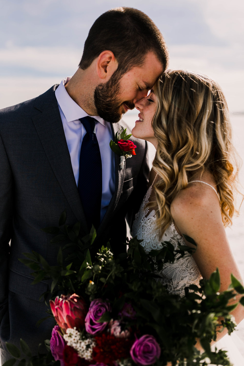 Adventurous, romantic, intimate elopement in Utah