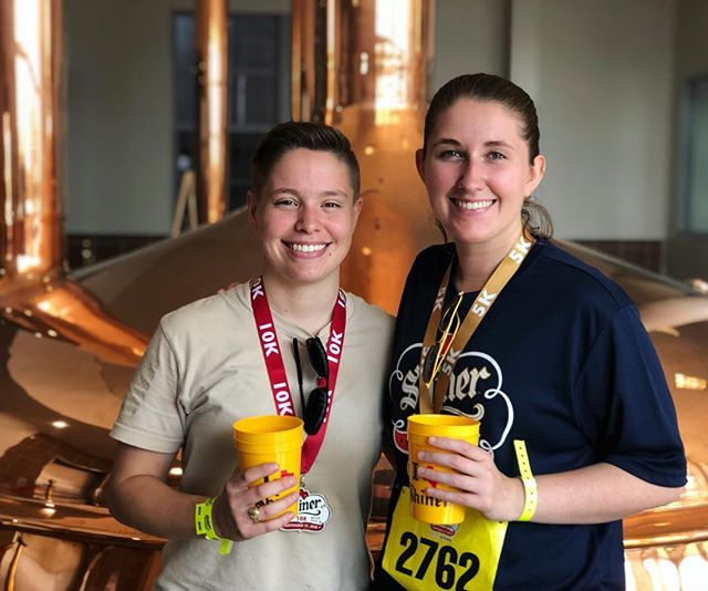 Came for the beer, ran for the... beer. It's always for the beer. #22 #shinerbeerrun2018