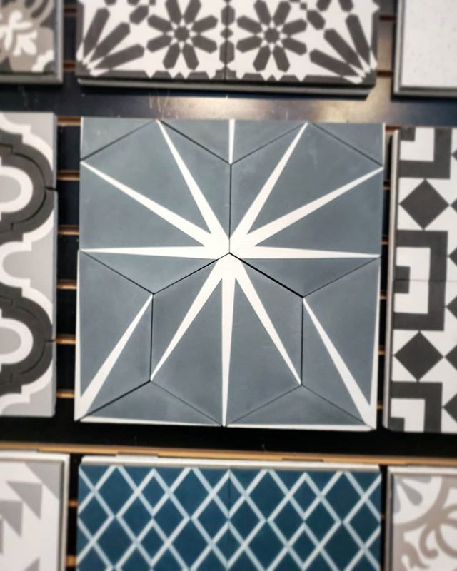 We're Sourcing tile today.... love this color!
