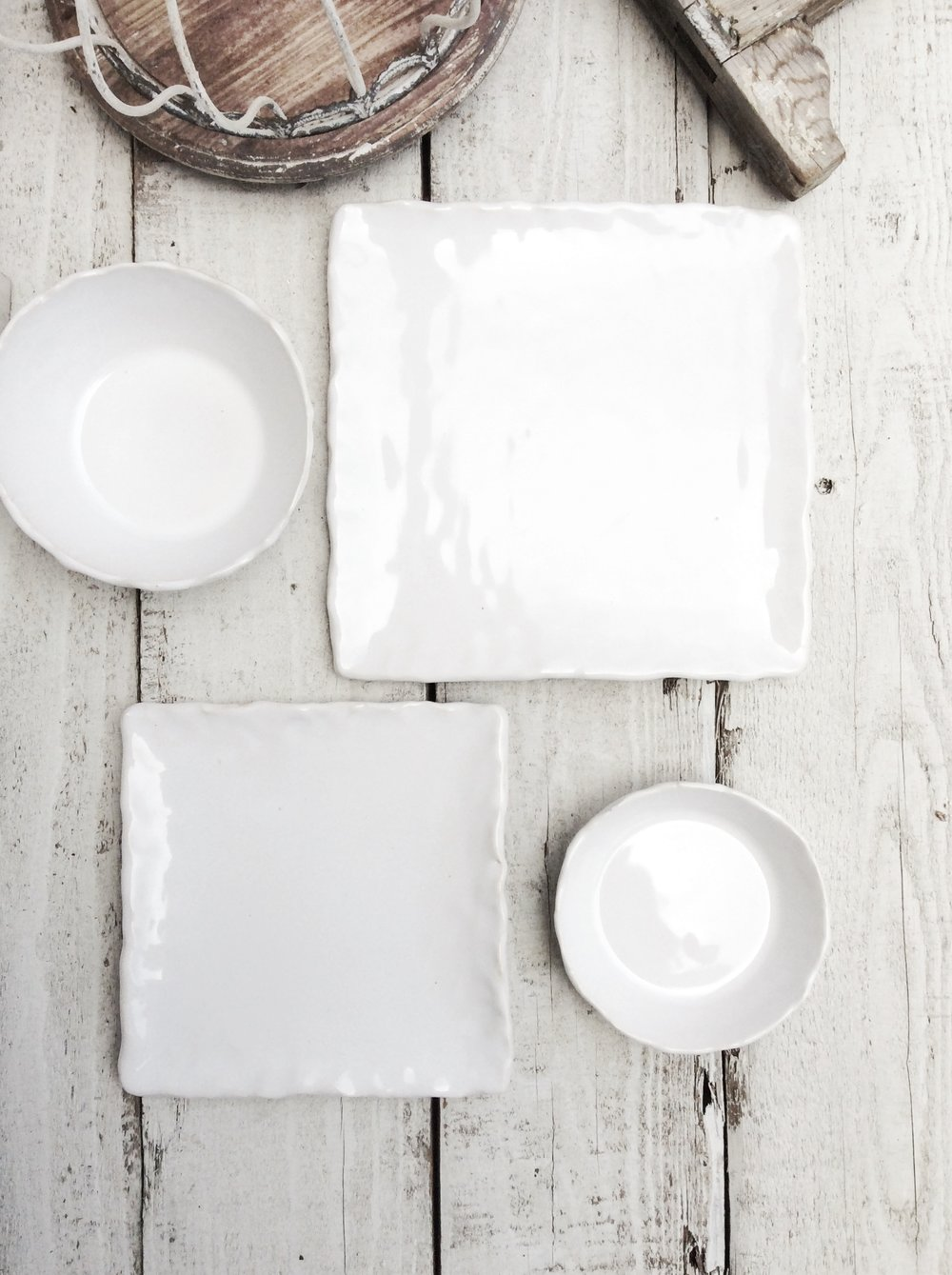 Hand Formed Dinnerware