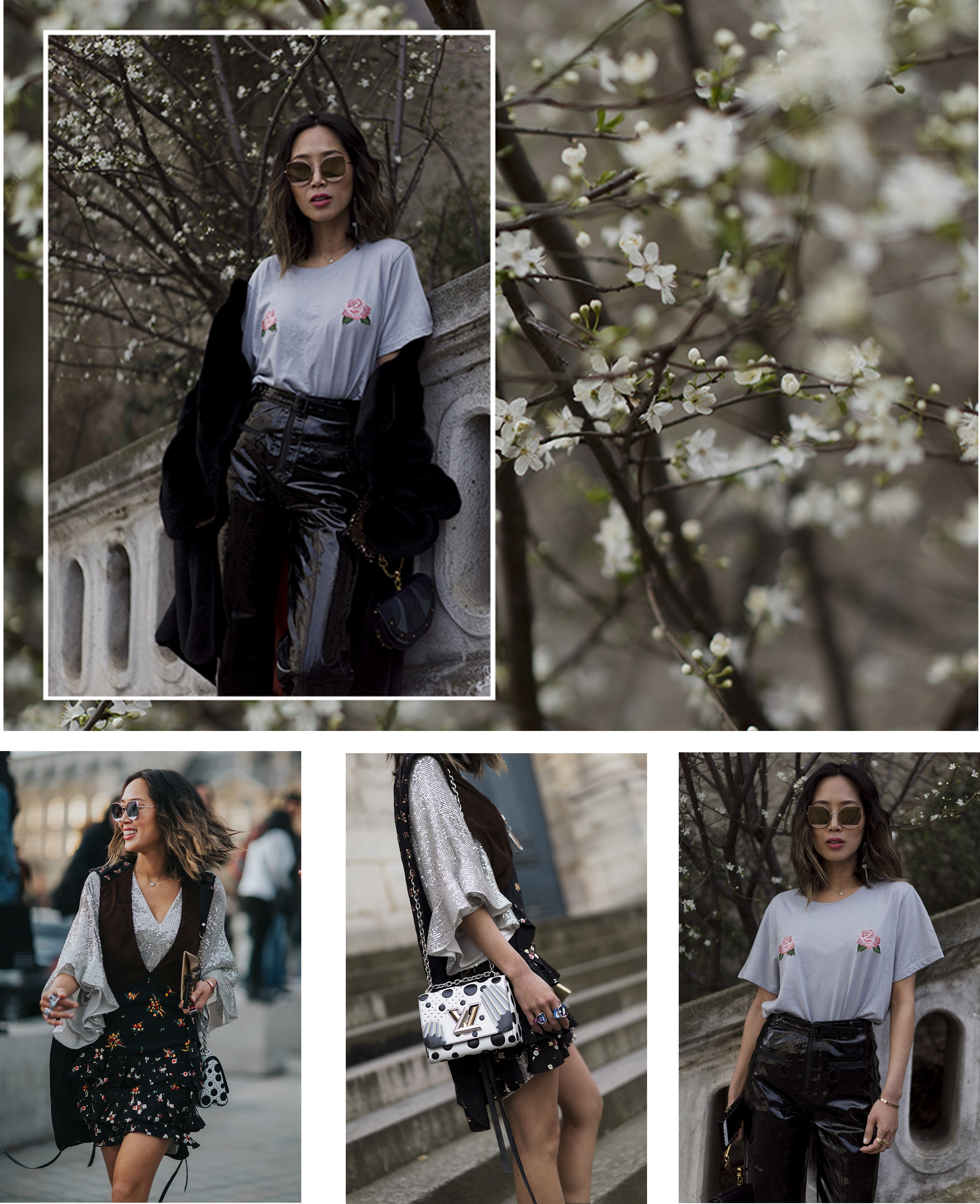 what fashion bloggers wore to fashion week
