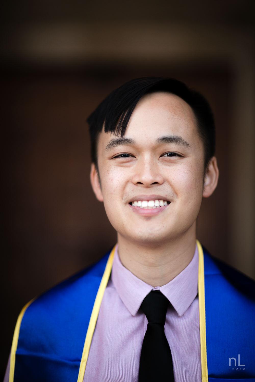 los-angeles-ucla-senior-graduation-portraits-royce-hall-doors-headshot-with-sash