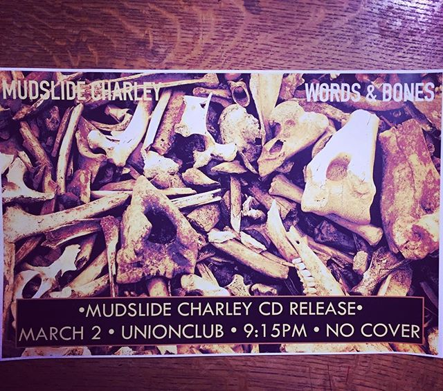 People!!! This is happening and you do not want to miss it or YOU will be missed! . . . . . #cdrelease #wordsandbones #feelinggood #missoulablues #montanablues #mudslidecharley #hearitloudandclear