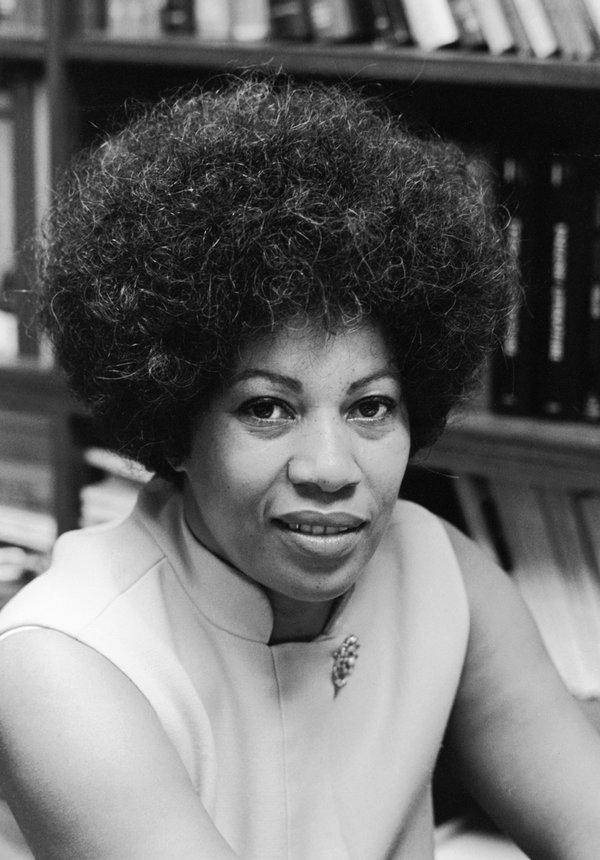 Toni Morrison. Image by Bernard Gotfryd/Getty Images