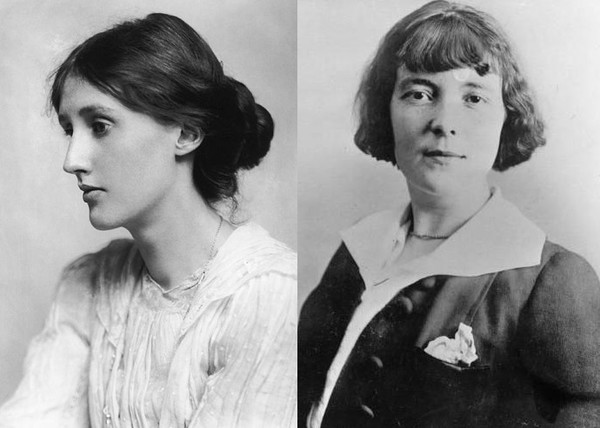 Left to right: Woolf; Mansfield