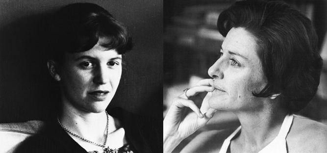 Left to right: Plath and Sexton.