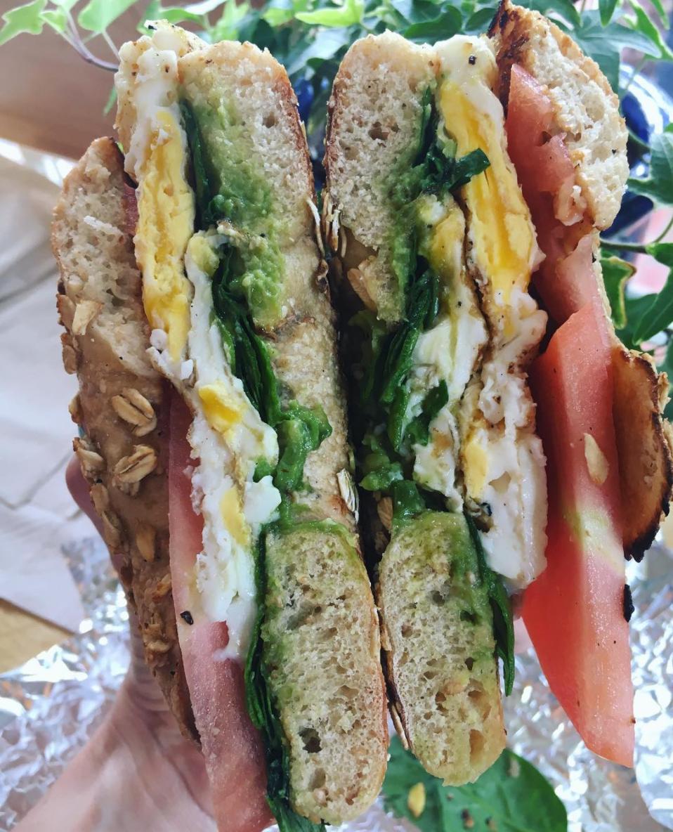 The Cali Breakfast Sandwich- Nantucket, Mass