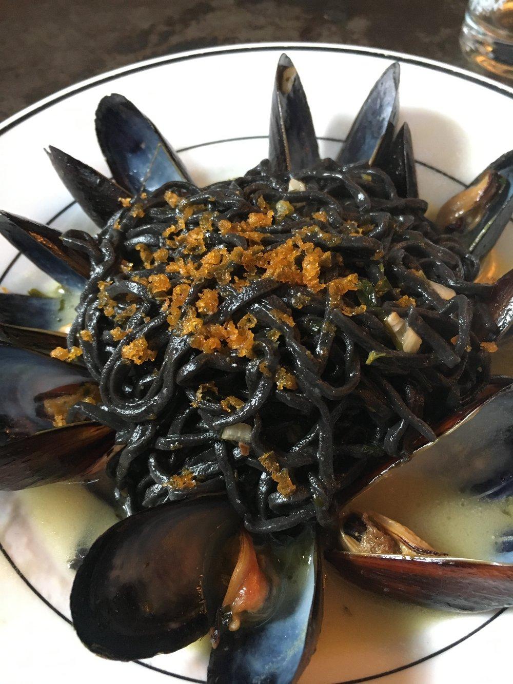 Squid Ink Pasta- NoLita