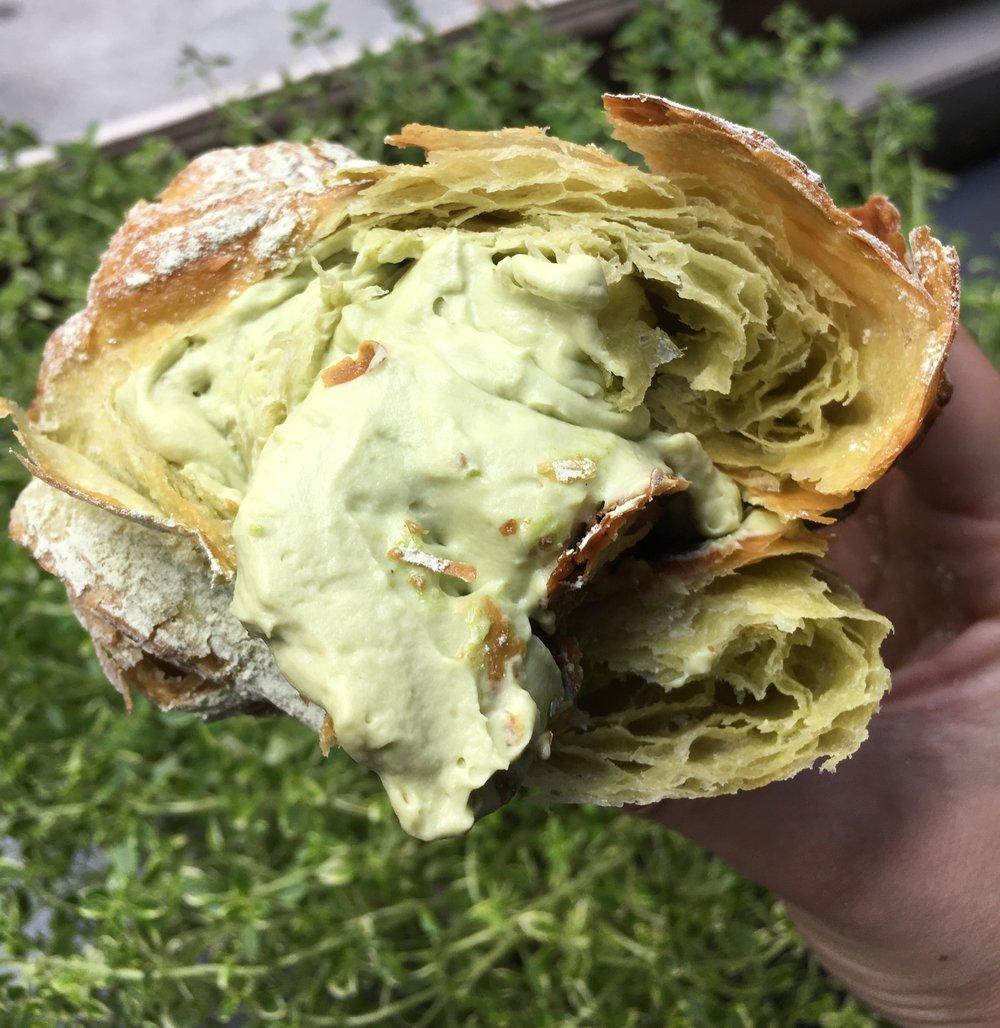 Matcha Croissant- Union Fare