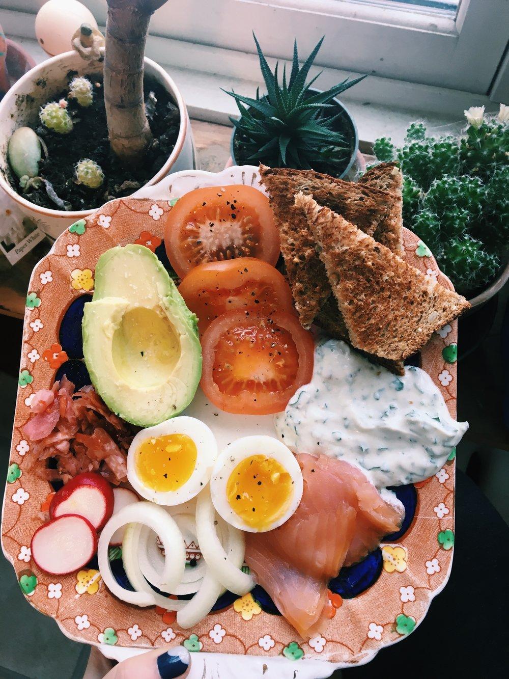 Breakfast Platter- Homemade
