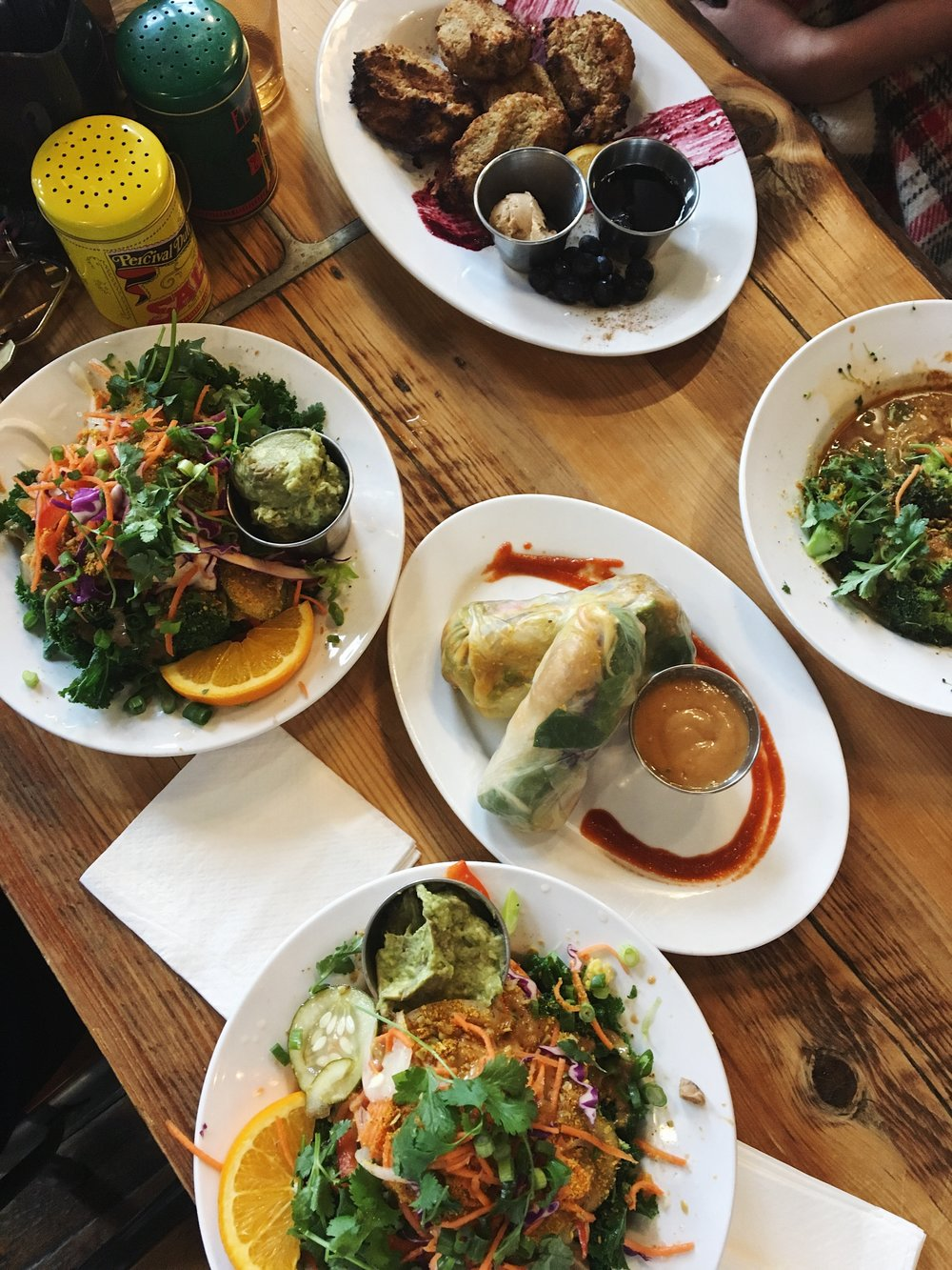 Buddha-ful bowls, Spring Rolls, and French Toast BABY!