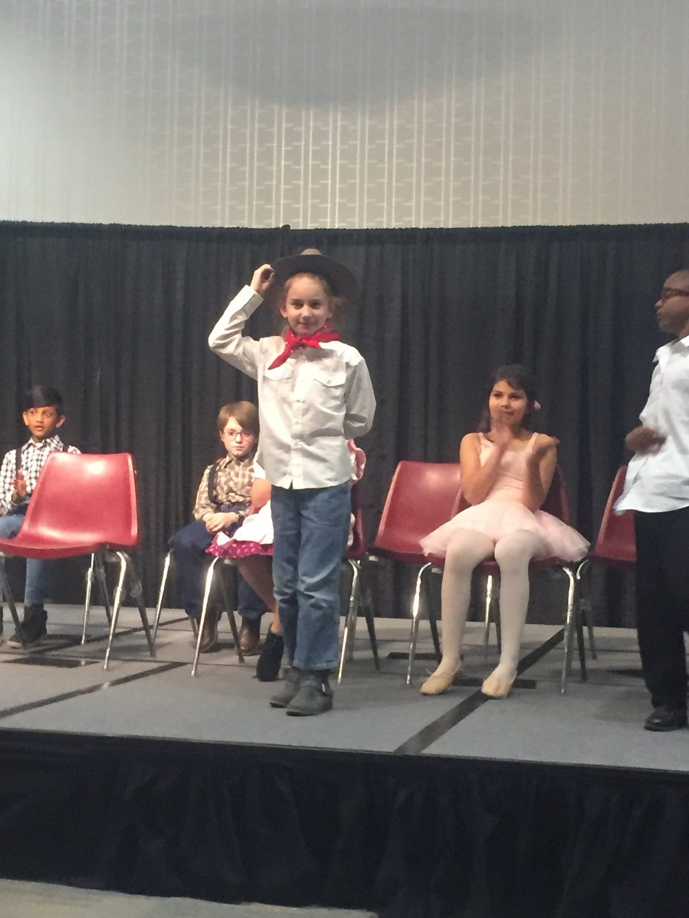 In the play, Serenity explains how Indian Territory, Oklahoma Territory, and No Mans Land came together to become a state.
