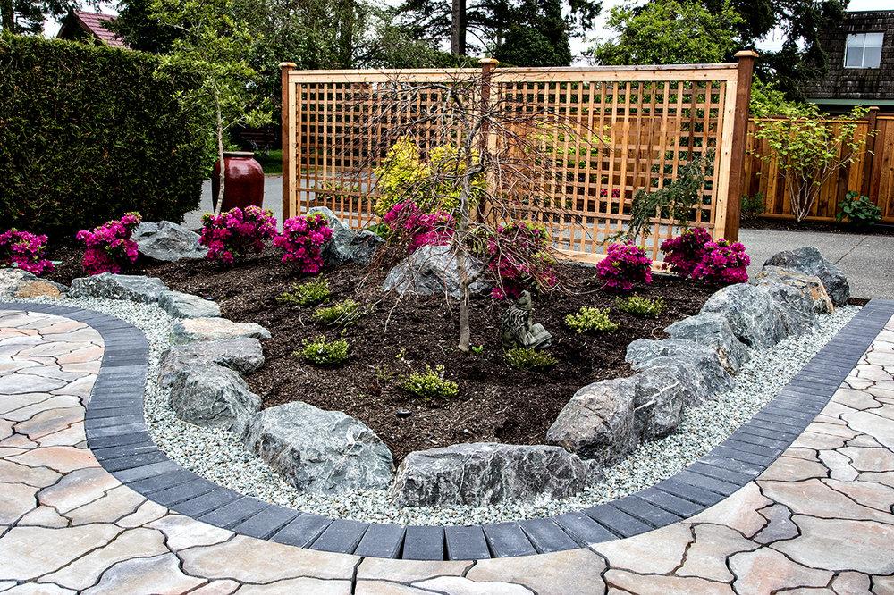 Mustang Landscape Garden Design Victoria BC Trellis