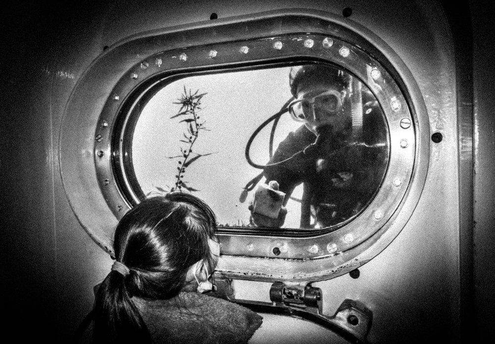 Underwater, Katsuura 2017 from the series  Tokyo is Yours  ©Meg Hewitt