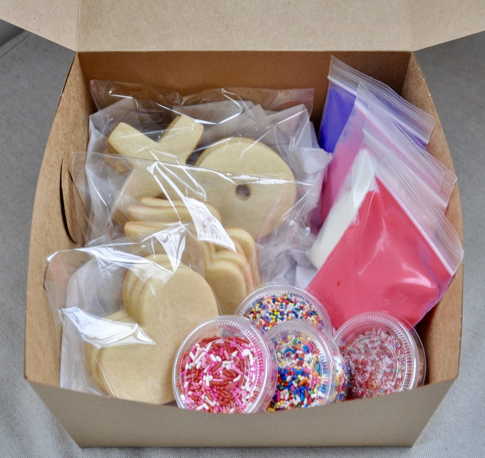 Holiday Christmas Cookie DIY Kit