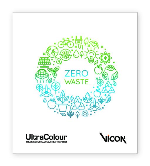 UltraColour Zero Waste Sample Heat Transfer