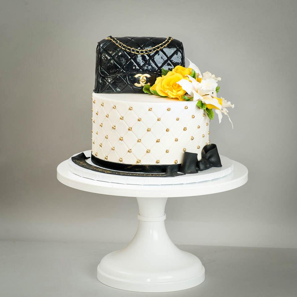 Chanel Purse birthday cake