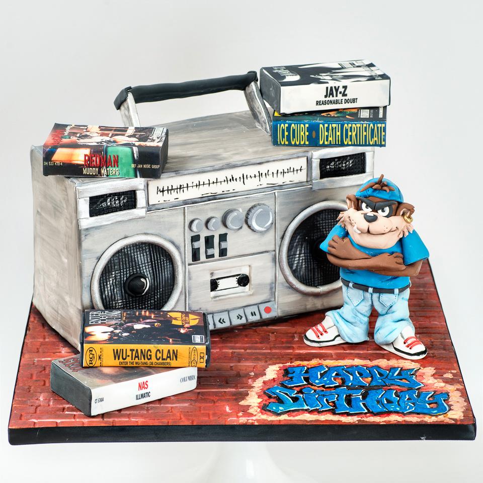 90's Hip Hop Taz Cake