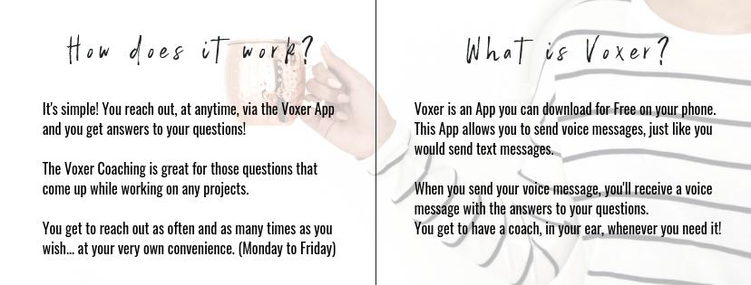Voxer Coaching