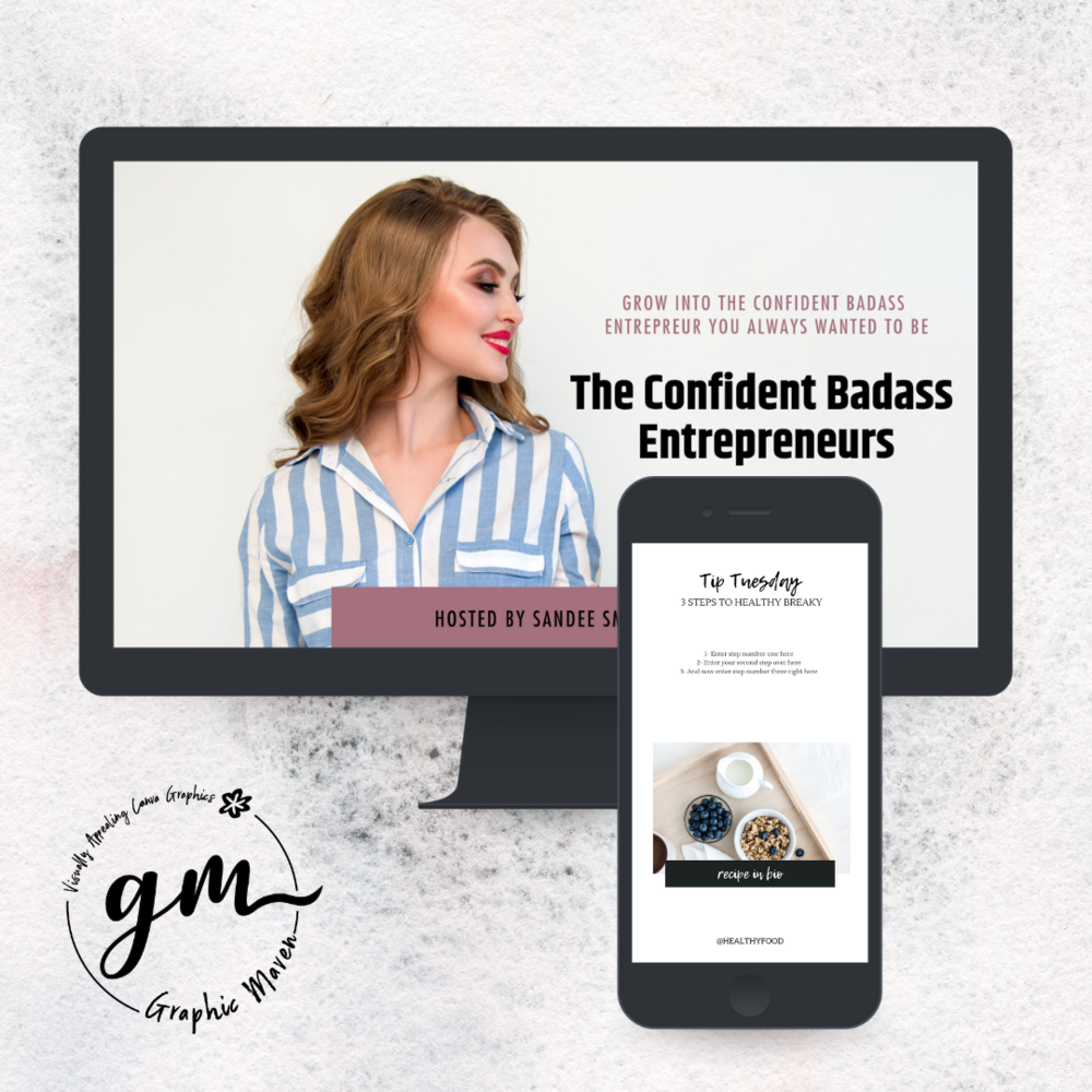 The Template Shop - All the Canva templates you need for you business can be found in The Template Shop.Easy solution to help you stay consistent in your business visuals. Everything made in Canva!Easy to edit. Fully Customizable.Budget friendly - Starting as low as $14