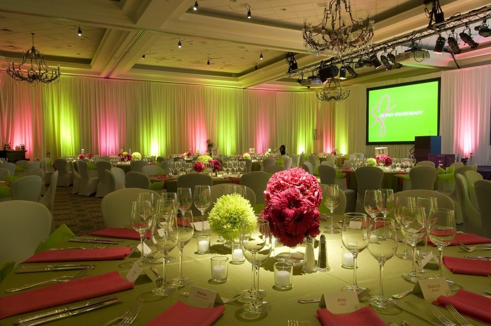 Venue Uplighting -