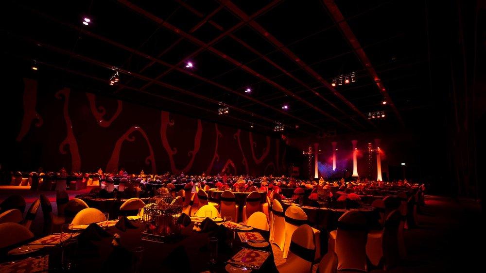 gala dinners -