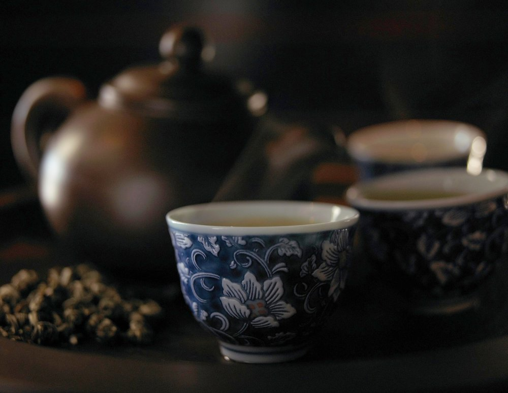 茶之道The Dao of tea - GREEN TEAFRUIT TEAFLOWER TEABLACK TEAWHITE TEA