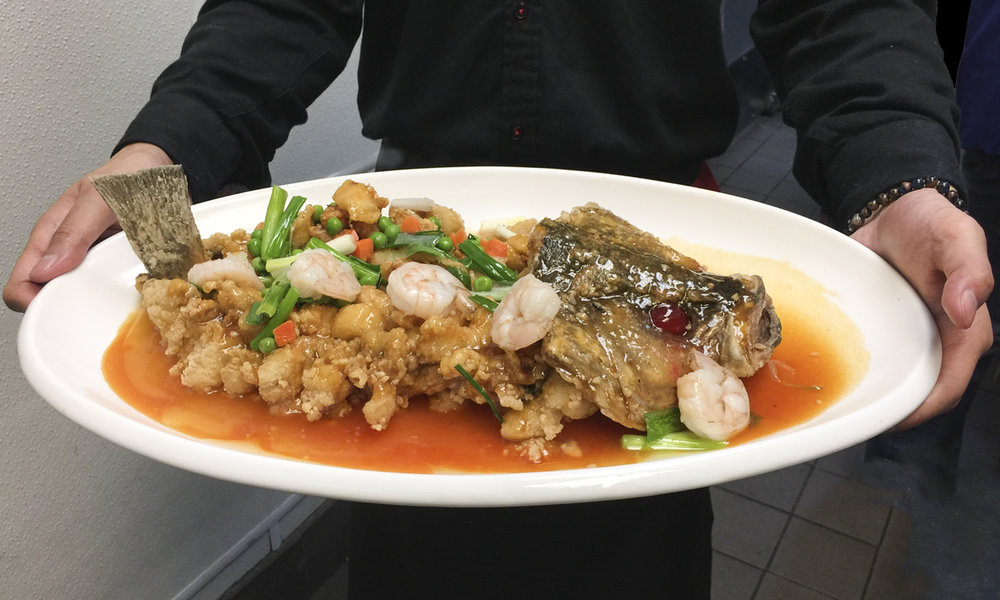 Sweet and Sour Whole Fish
