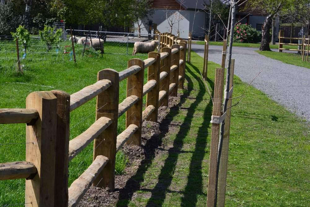 Residential and lifestyle fencing by Blackmore Fencing.