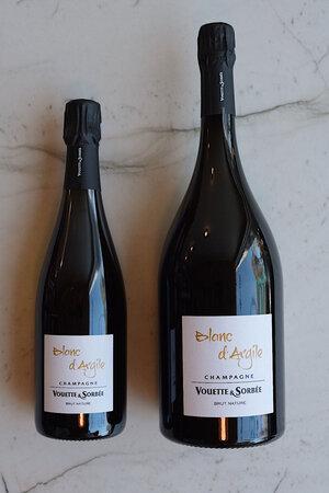 """Vouette et Sorbée """"Blanc d'Argile"""" Brut Nature NV 750ml & 1.5L"""