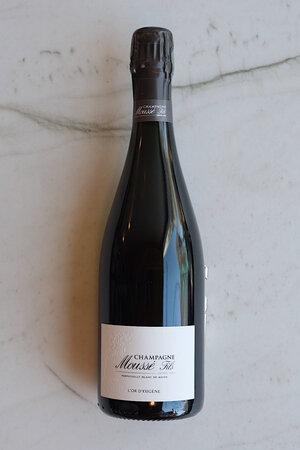 """Moussé """"Perpetuelle"""" Blanc de Noirs Brut Champagne NV"""