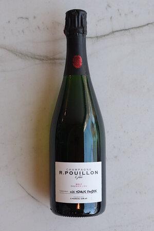 """R. Pouillon """"Les Terres Froides"""" Blanc de Blancs Champagne NV"""