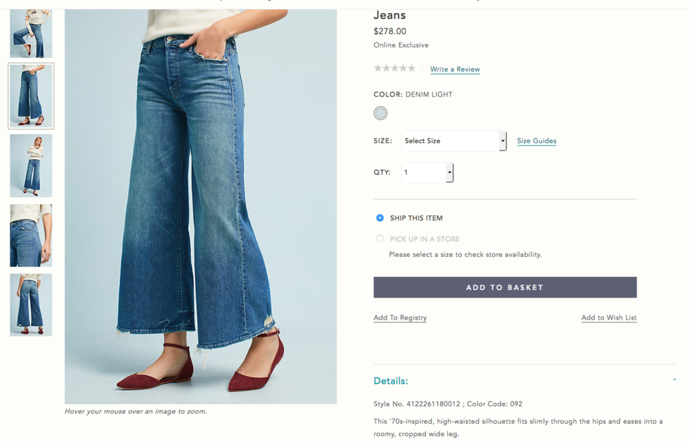 TWO HUNDRED SEVENTY EIGHT DOLLARS FOR THESE GARBAGE CLOWN JEANS. Look at the hems! Nearly $300 for this crap!