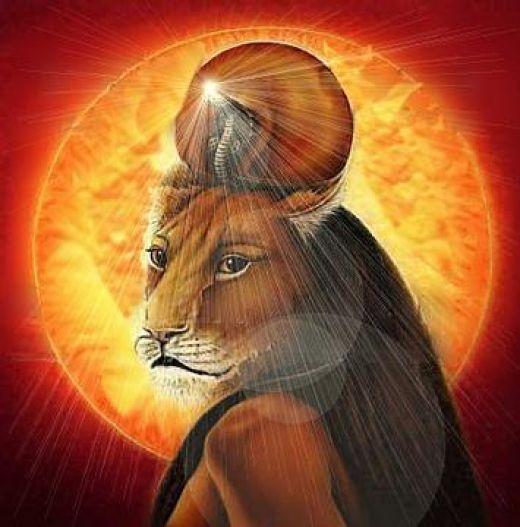 Sekhmet, the Egyptian goddess associated with the zodiac sign Sagittarius