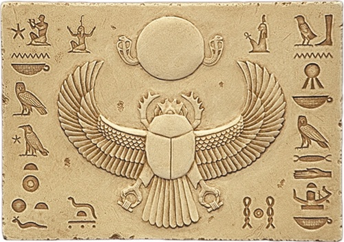 Egyptians worshiped the scarab under the name Khepri. The Ancient Egyptian Sacred Scarab – symbol of immortality – was the original symbol for the sign Cancer.