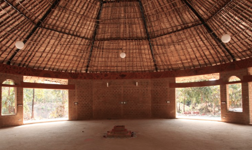 Yoga shala - Where our practices will happen