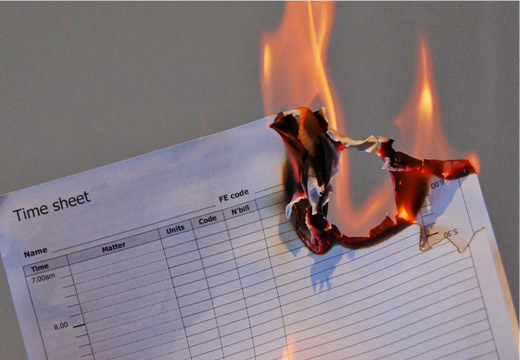 Burning Timesheets