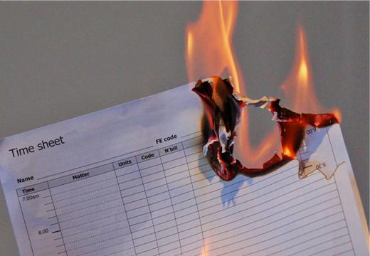 Burning-Timesheets