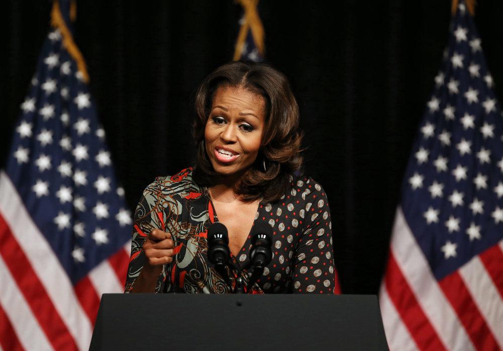 Michelle Obama - 44th Flotus, lawyer, writer, activist