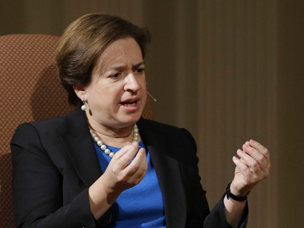 Elena Kagan - Fourth female Supreme Court Justice, first female dean of Harvard Law, first female Solicitor General