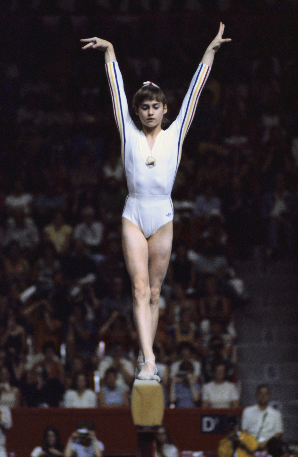 Nadia Comaneci - First gymnast to be awarded a perfect score of 10.0
