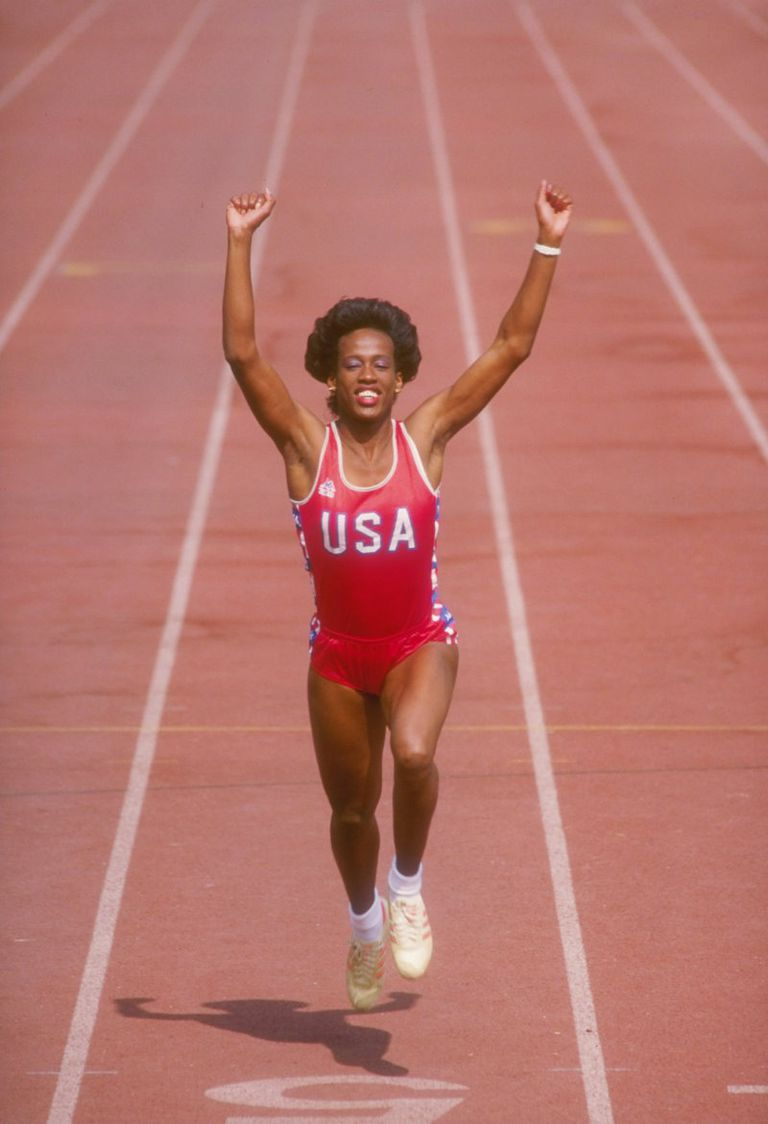 Jackie Joyner-Kersee - Six time olympic medalist in Track and Field, one of the greatest female athletes of all time