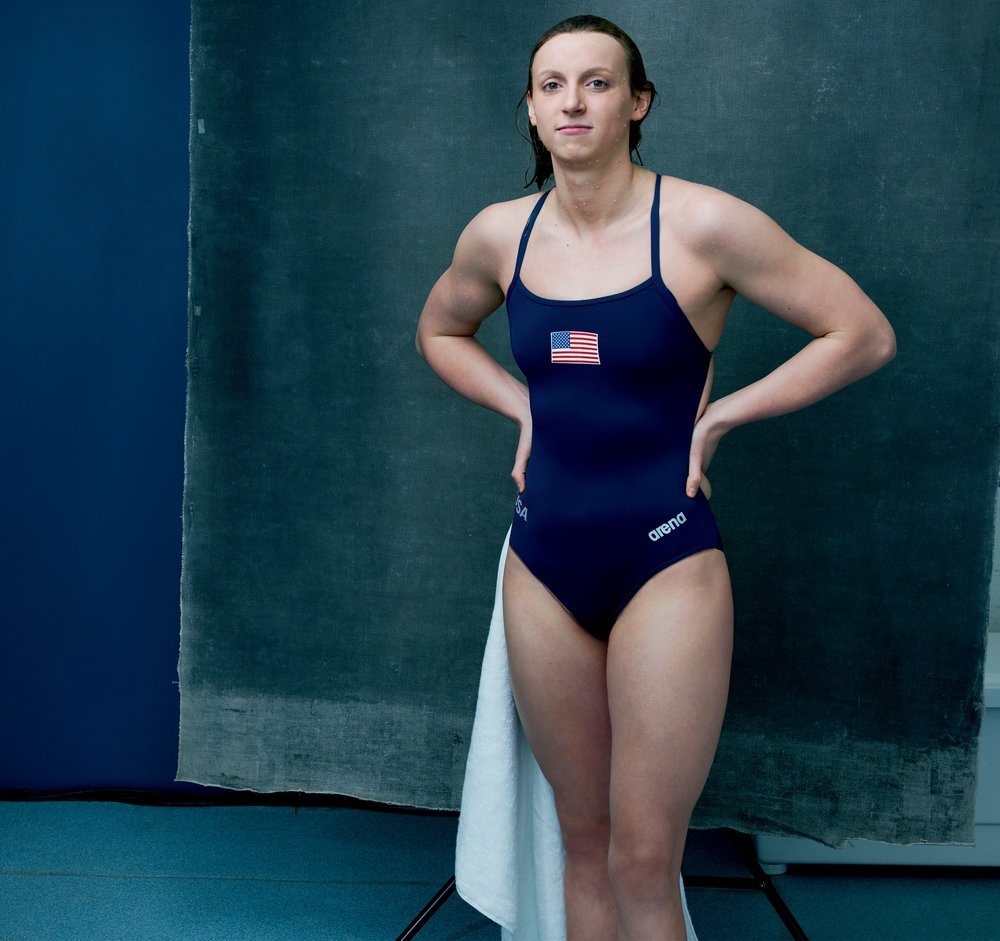 Katie Ledecky - One of the fastest female swimmers of all time, most decorated female athlete of the 2016 Olympic Games, five-time Olympic gold medalist, 14-time world champion, 2016 Female Athlete of the Olympic Games